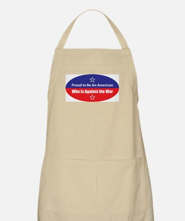 Against the War BBQ Apron