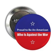 Against the War Button
