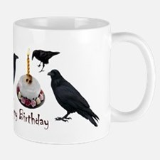Crows Skull Cake Mug