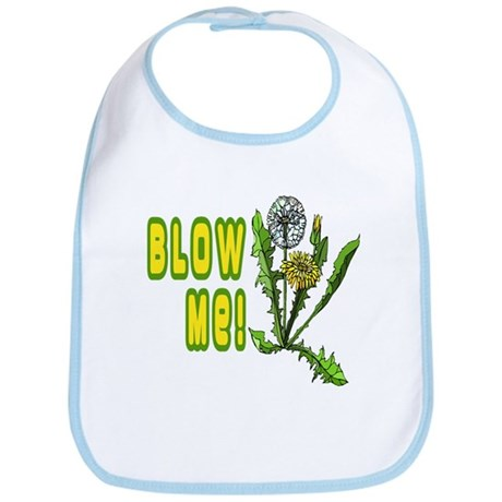 Blow Me Dandelion Bib