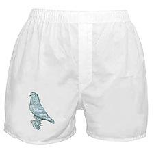 Lavender West Mottle Boxer Shorts