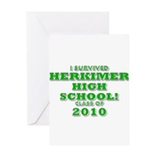 I SURVIVED HERKIMER HIGH SCHO Greeting Card
