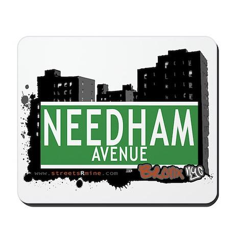 Needham Av, Bronx, NYC Mousepad