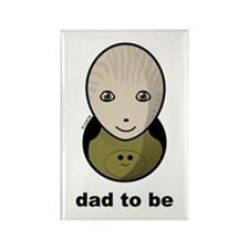 Dad to be - Rectangle Magnet
