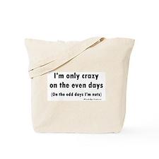 Even/Odd Tote Bag