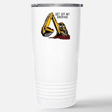 Backhoe Travel Mug
