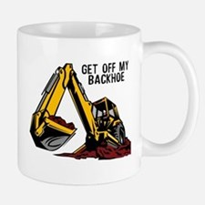 Backhoe Small Mugs