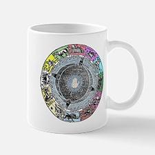 zodiac wheel Mugs