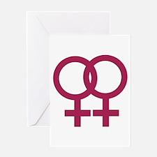 Lesbian Greeting Card