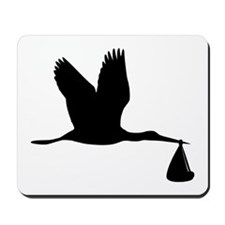 Stork - Baby Mousepad