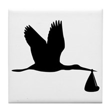 Stork - Baby Tile Coaster