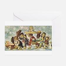 Vintage Christmas 1964 Greeting Card