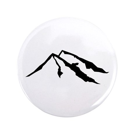 "Mountains 3.5"" Button (100 pack)"