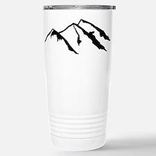 Mountains Stainless Steel Travel Mug