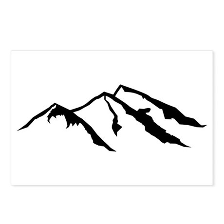Mountains Postcards (Package of 8)