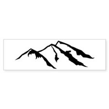 Mountains Bumper Sticker