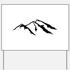 Mountains Yard Sign