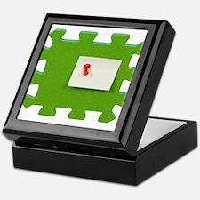 Puzzle Note Keepsake Box