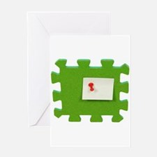 Puzzle Note Greeting Card