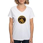 Sheriff K9 Unit Women's V-Neck T-Shirt