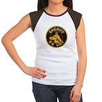 Sheriff K9 Unit Women's Cap Sleeve T-Shirt
