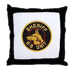 Sheriff K9 Unit Throw Pillow