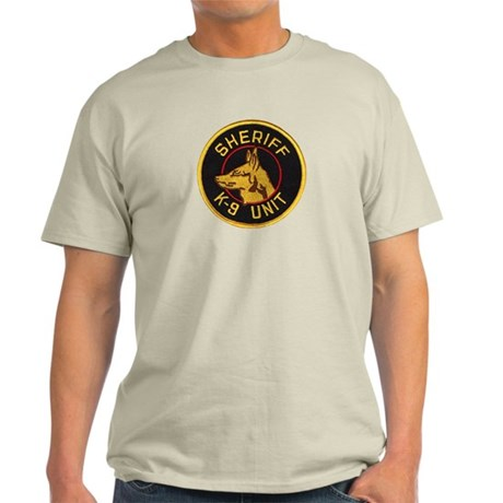 Sheriff K9 Unit Light T-Shirt
