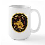 Sheriff K9 Unit Large Mug