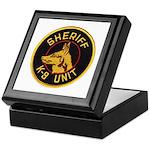 Sheriff K9 Unit Keepsake Box