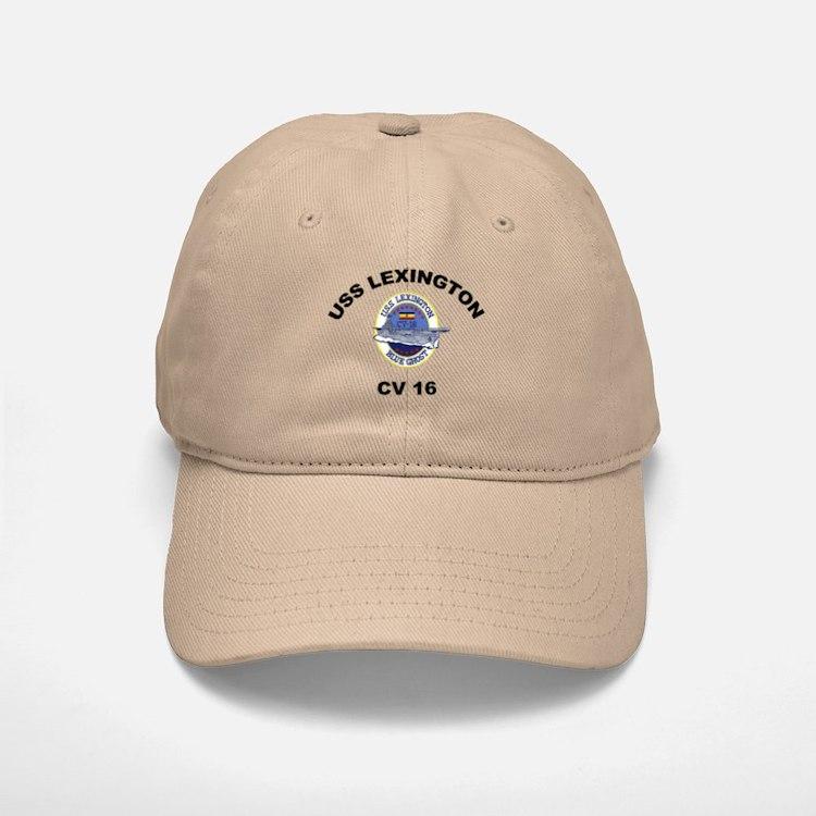 USS Lexington CV 16 Baseball Baseball Cap
