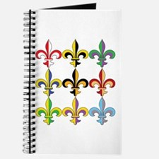 Fleur De Lis Colors Journal