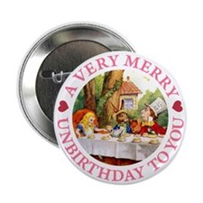 "A VERY MERRY UNBIRTHDAY 2.25"" Button"