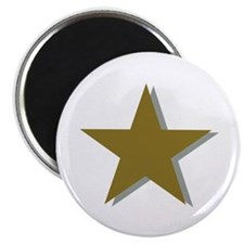"Star gold 2.25"" Magnet (10 pack)"