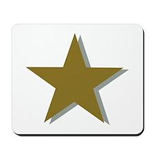 Star gold Mousepad