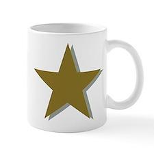 Star gold Mug