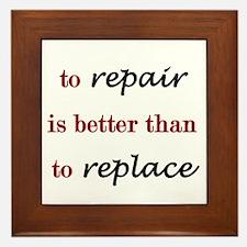 Repair Framed Tile
