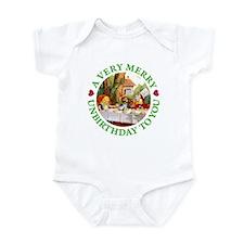 A VERY MERRY UNBIRTHDAY Infant Bodysuit
