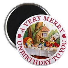 A VERY MERRY UNBIRTHDAY Magnet