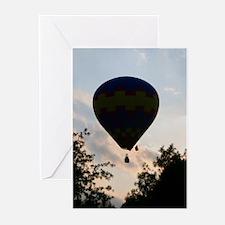Balloon at dawn Greeting Cards (Pk of 10)