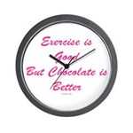 Exercise Funny Wall Clock