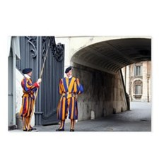 Swiss Guards at Vatican Postcards (Package of 8)