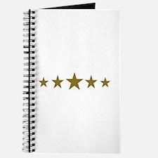 Stars gold Journal