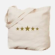 Stars gold Tote Bag