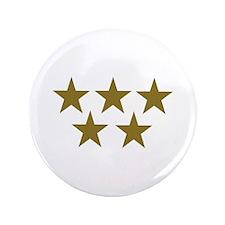"""Golden Stars 3.5"""" Button"""