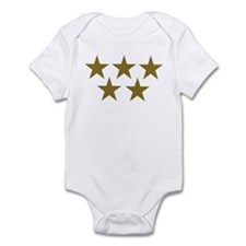 Golden Stars Infant Bodysuit