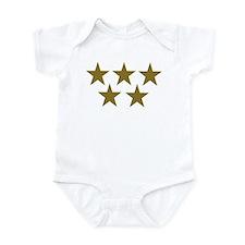 Golden Stars Onesie