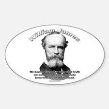 William James 01 Oval Decal