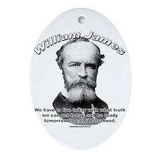 William James 01 Oval Ornament