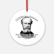 William James 01 Ornament (Round)