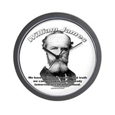 William James 01 Wall Clock